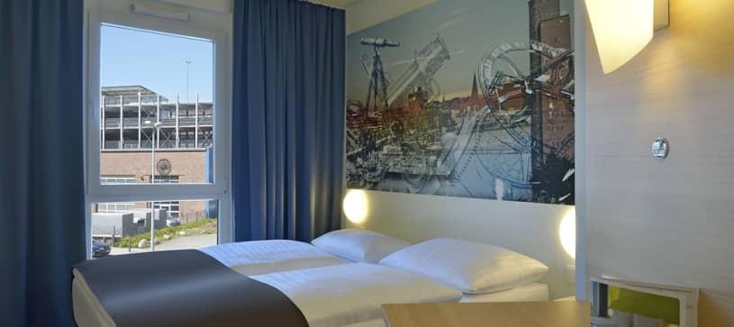 Hotel Kiel-Wissenschaftspark Zimmer für 1 bis 2 Personen