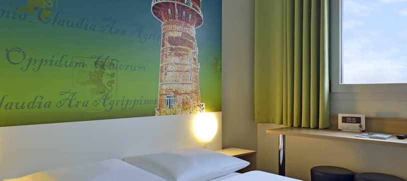 Hotel Köln-Frechen Zimmer für 1 bis 2 Personen