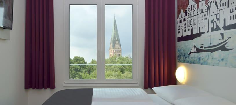 Hotel Lüneburg Zimmer für 1 bis 2 Personen Nahaufnahme