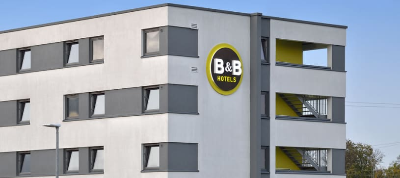 Hotel Mönchengladbach exterior by day