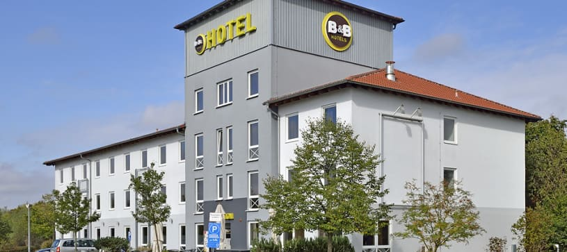 Hotel Schweinfurt-Süd exterior sideview