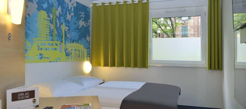 Hotel Stuttgart-City Zimmer für 1 bis 2 Personen