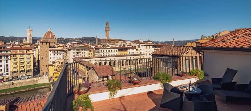Hotel Pitti Palace al Ponte Vecchio Terrazza
