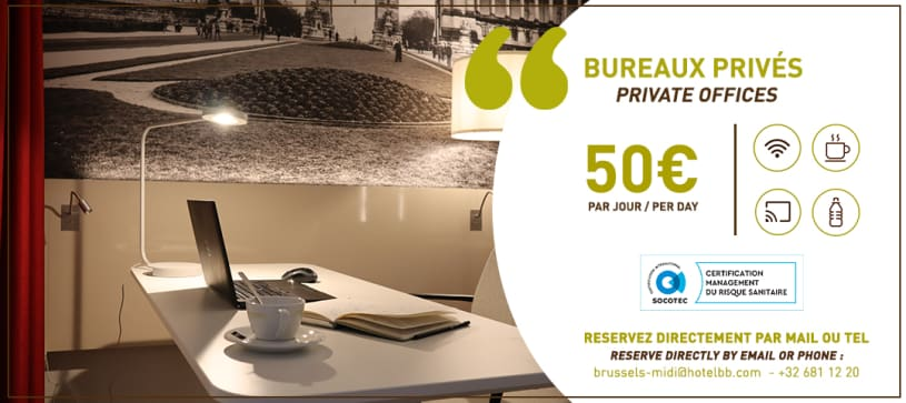 private offices hotel in Brussels