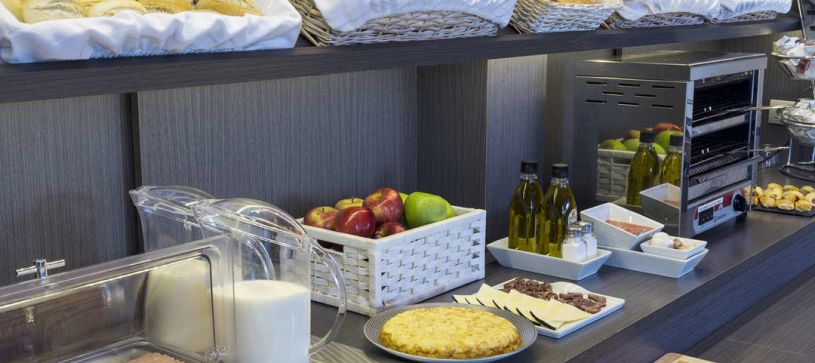 Desayuno Hotel B&B Albacete