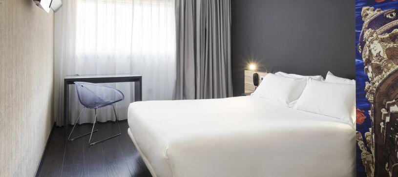 Habitación doble matrimonial Hotel B&B Albacete