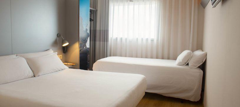 Habitación Familiar Hotel B&B Figueres