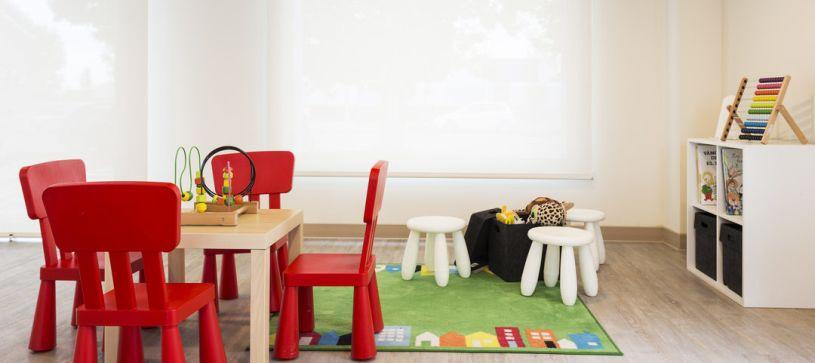 Zona infantil Hotel B&B Figueres