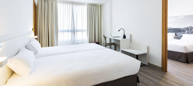 Habitación comunicada Hotel B&B Vigo