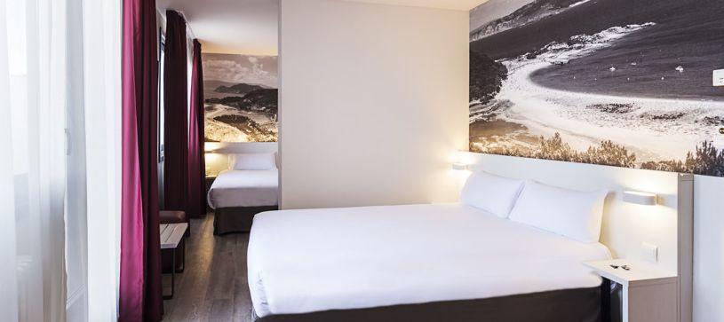 Habitación Familiar con Terraza Hotel B&B Vigo