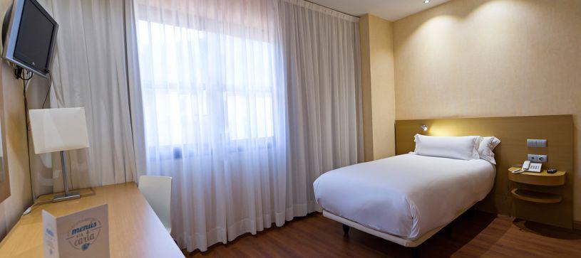 Habitación individual Hotel B&B Madrid Fuenlabrada