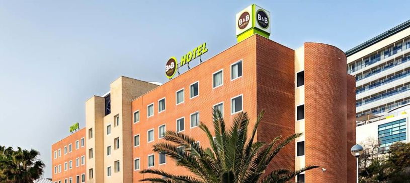 Edificio Hotel B&B Alicante