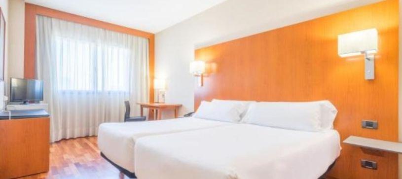 Hotel B&B Granada Estación camas gemelas habitación twin