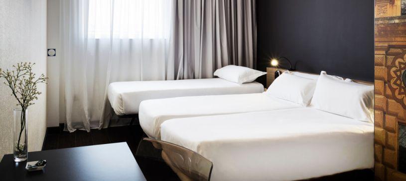 Habitación triple Hotel B&B Granada