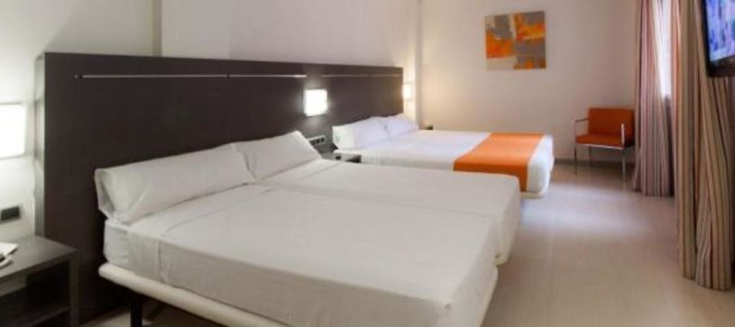 Habitación doble Hotel B&B Rubí