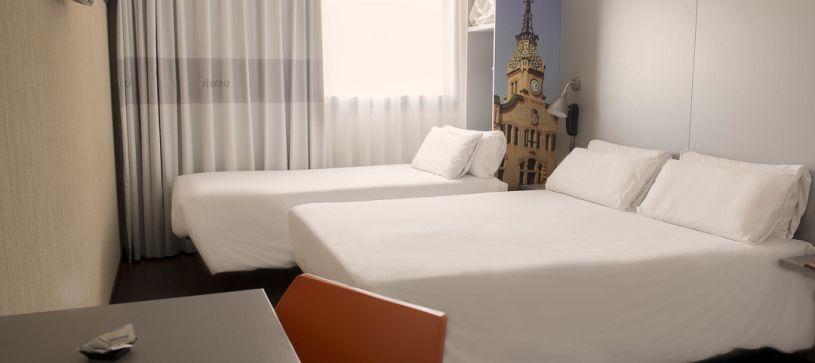 Hotel B&B Granollers  habitación familiar