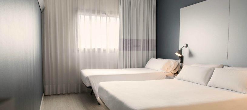 Hotel B&B Mollet habitación familiar