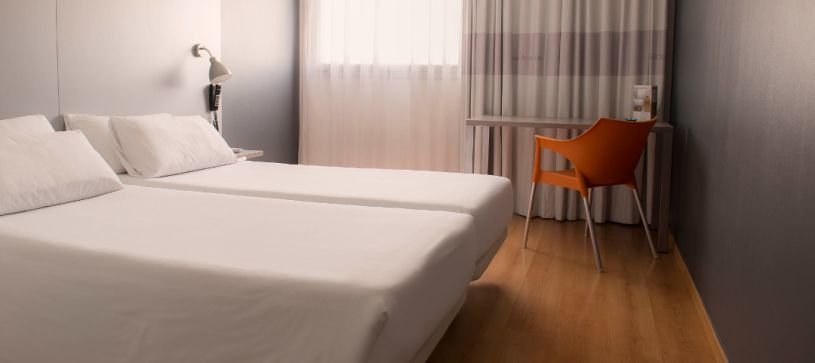 Hotel B&B habitación doble con dos camas