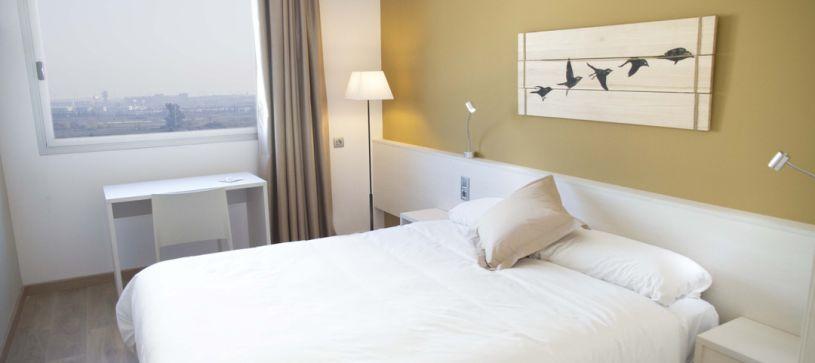 Hotel B&B Viladecans habitación doble matrimonial