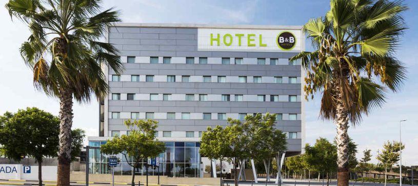 Vista exterior Hotel B&B Barcelona Viladecans