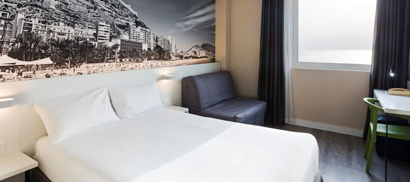 Hotel B&B Alicante habitación para dos personas