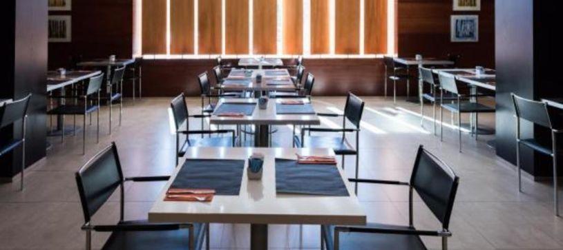 Zona de desayunos Hotel B&B Elche
