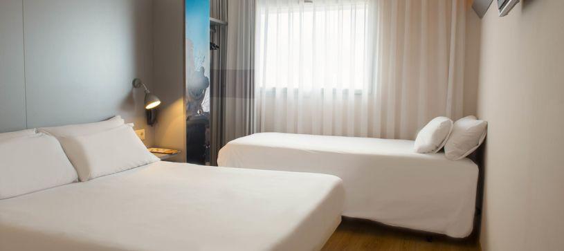 B&B Hotel Girona 2 habitación familiar