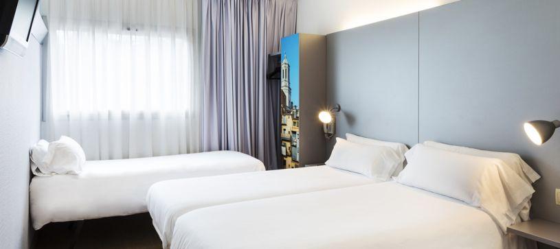 B&B Hotel Girona 2 habitación triple para tres adultos