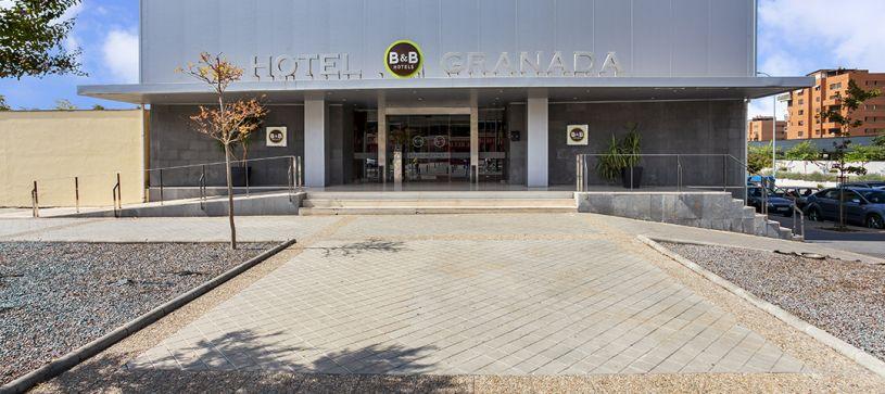 B&B Hotel Granada Estacion Front