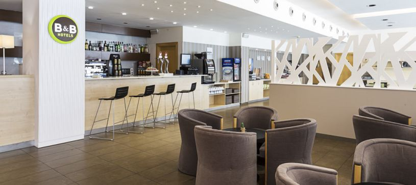 Lobby Hotel B&B Madrid Airport T1 T2 T3