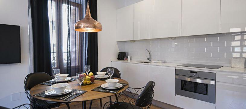 Comedor B&B Apartamentos Fuencarral 46