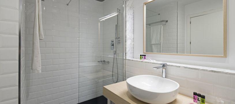 baño B&B Apartamentos Fuencarral 46