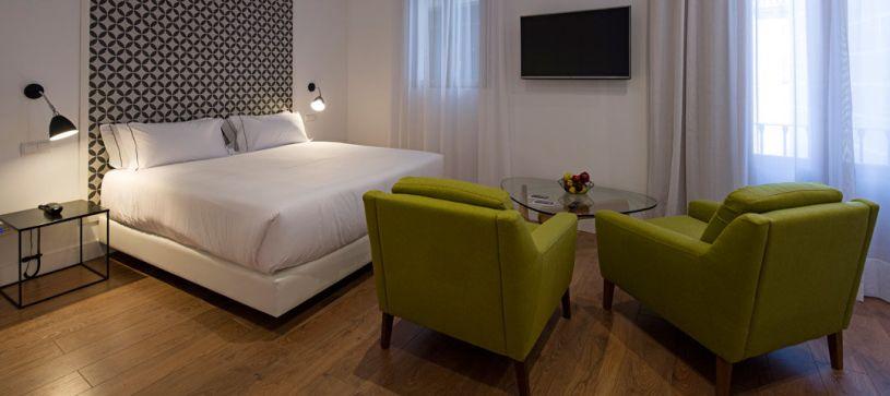 Estudio para dos personas Madrid B&B Apartamentos Fuencarral 46
