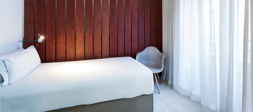Habitación individual Hotel B&B Madrid Fuencarral 52