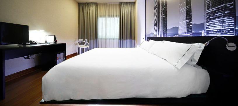 Doble standard Hotel B&B Madrid Aeropuerto T4