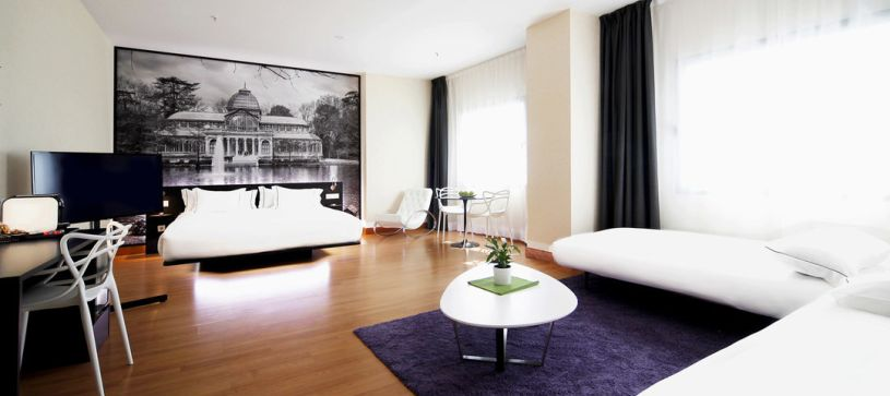 Suite panorámica Hotel B&B Madrid Aeropuerto T4
