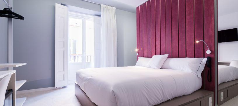Habitación doble matrimonial Hotel B&B Fuencarral 52