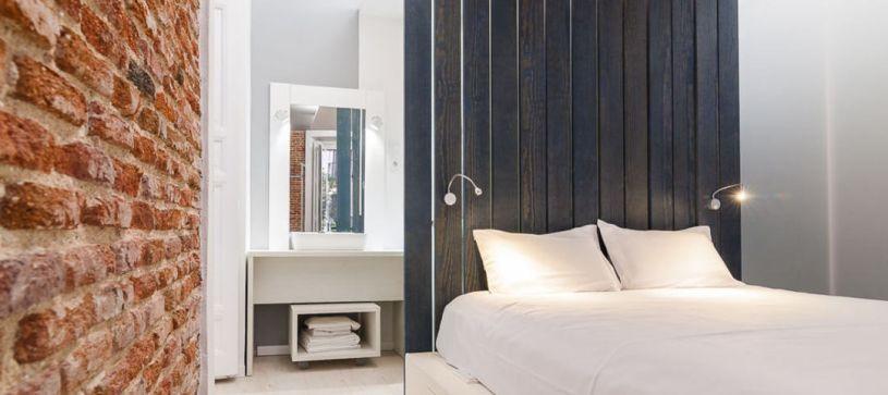 Habitación doble con aseo Hotel B&B Fuencarral 52