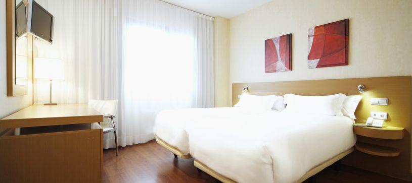 Habitación twin Hotel B&B Madrid Fuenlabrada