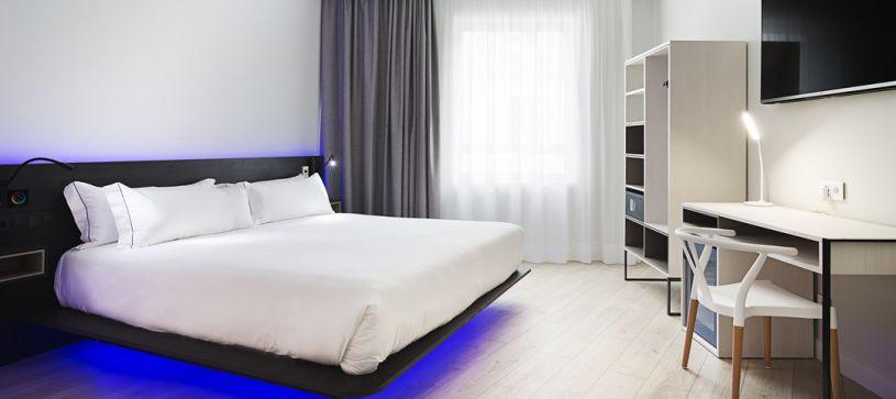 Habitación doble premium Madrid Hotel B&B Puerta del Sol