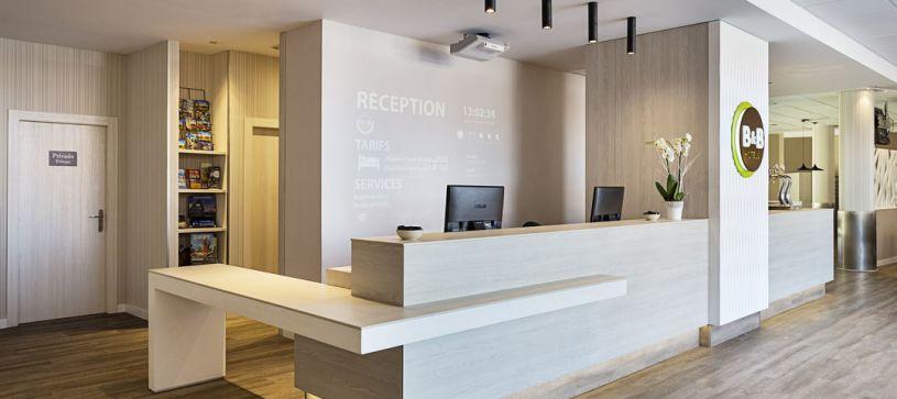 Recepción Hotel B&B Valencia Ciudad de las Ciencias