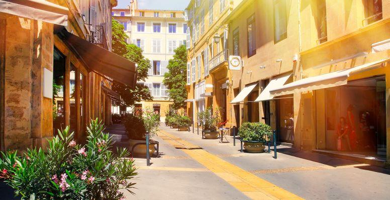 centre ville aix en provence