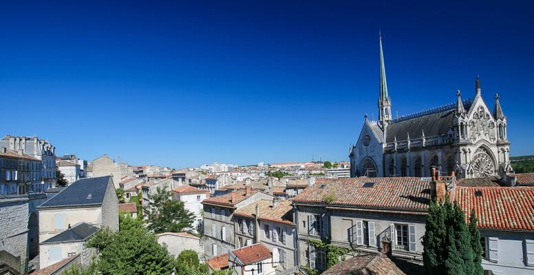Church Notre Dame in Angouleme