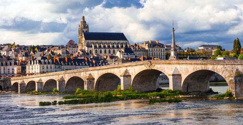 Historical town of Blois