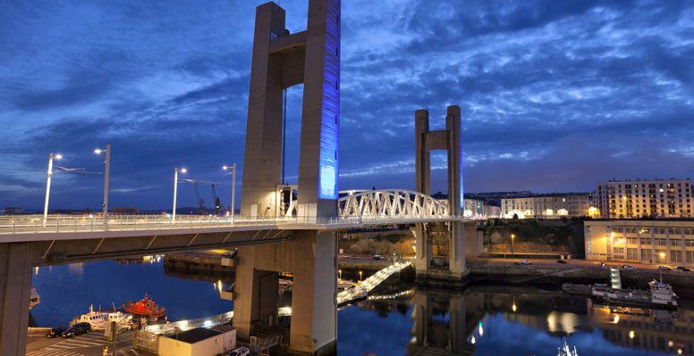 Pont de Recouvrance à Brest