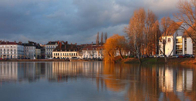 View of Chalon sur Saône