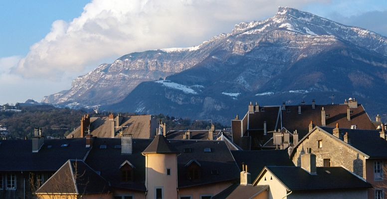 View of Chambéry
