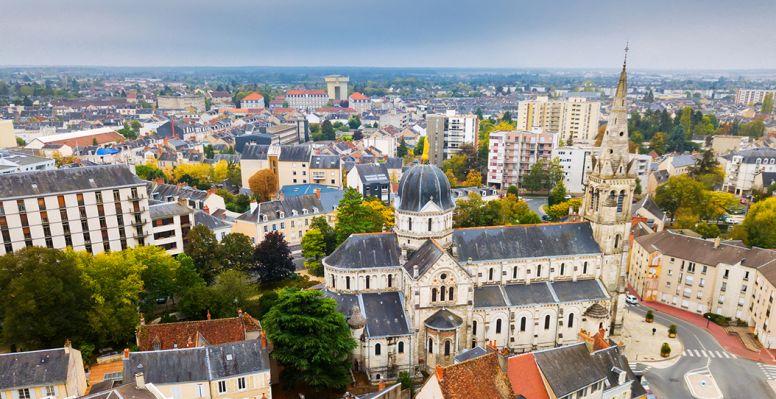 Panorama de la ciudad de Châteauroux