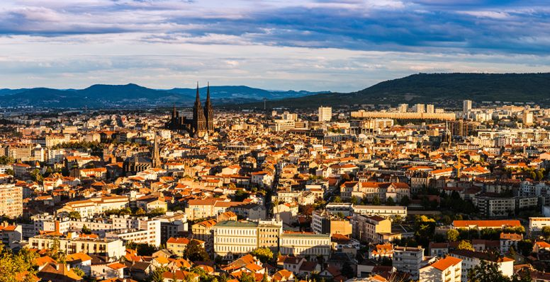 View of Clermont-Ferrand