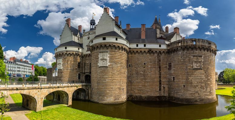 Castle of the Ducs de Bretagne of Nantes
